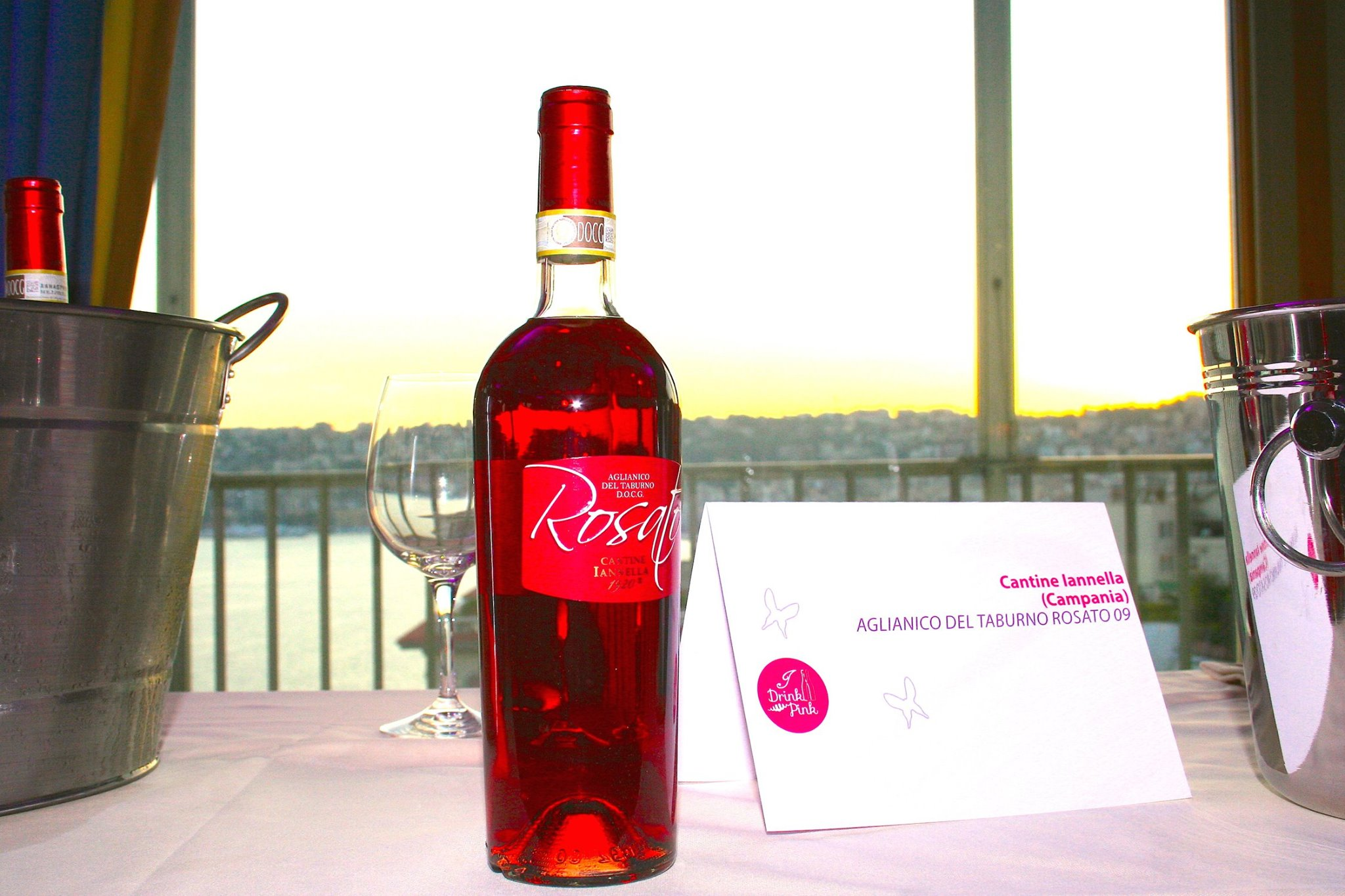 Drink Pink 2014: Glamour e vin sul Roof!